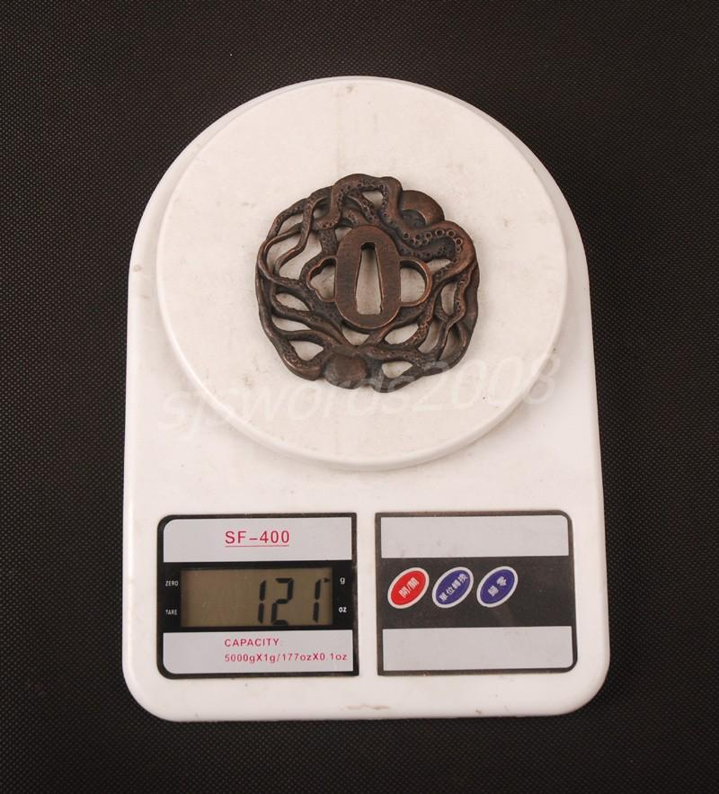 Alloy Tsuba Guard For Japanese Sword Katana Wakizashi Nice Design Sj021