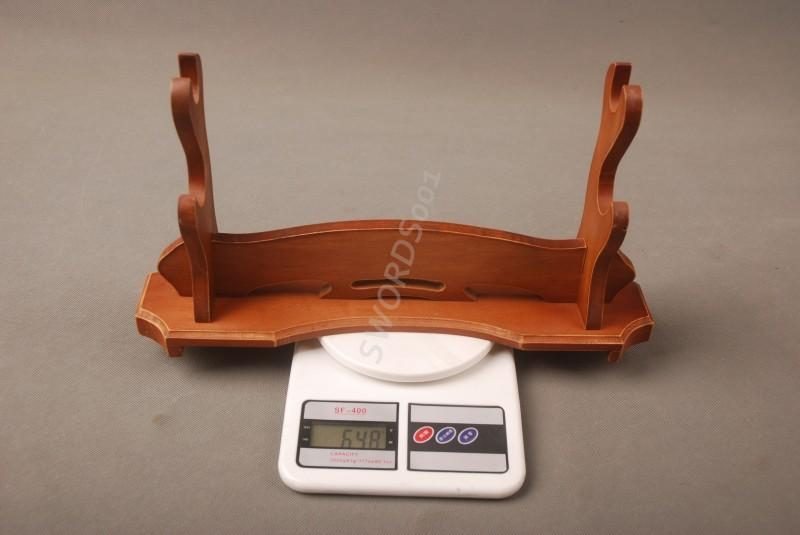 Wood Sword Two-Layer Stand Display Holder Rack For Japanese Samurai Sword 13b