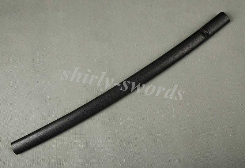 Matt Black Lacquered Wooden Saya For Japanese Katana Samurai Sword