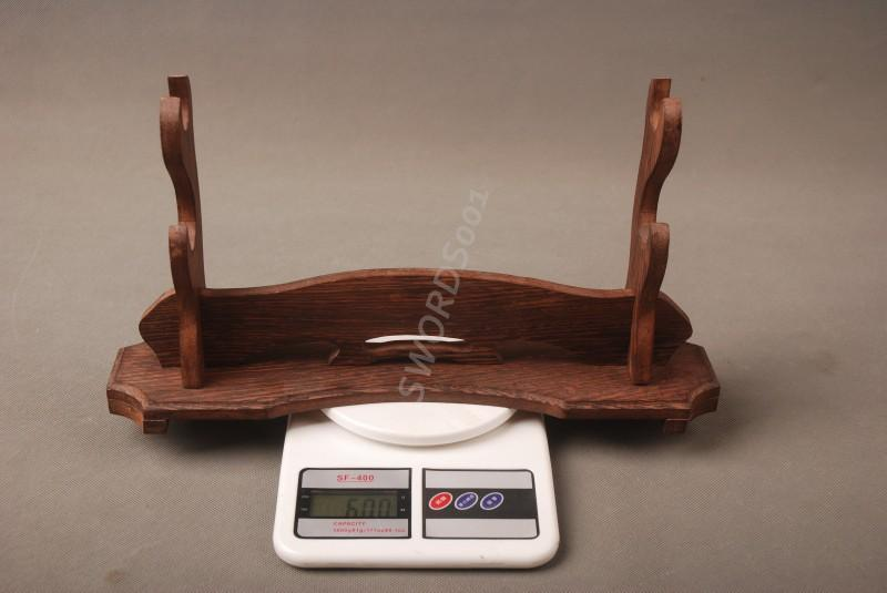 Rosewood Sword Two-Layer Stand Display Holder Rack For Japanese Samurai Sword