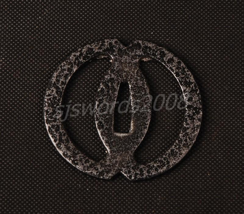 Regular Tsuba For Japanese Samurai Sword Wakizashi Katana Simple Design Hj28