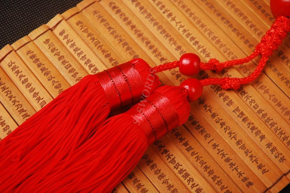Chinese Sword Military Sword Straight Sword Katana Handle Silk Nice Tassel 003