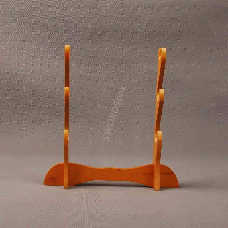 Wood Three Layers Sword Stand Display Rack For Japanese Samurai Sword Sdj06
