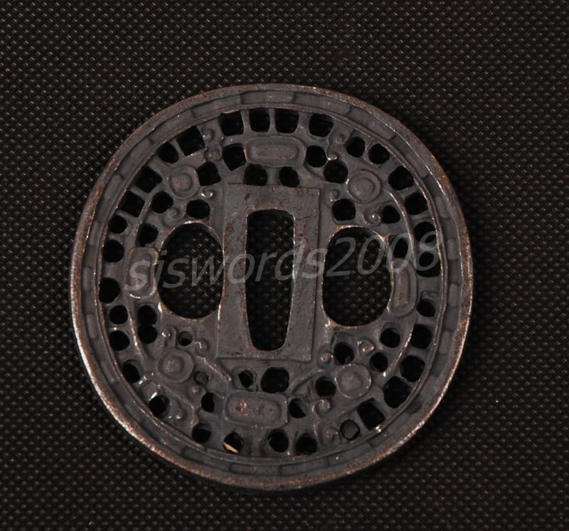 Part For The Japanese Sword Katana Wakizashi Tsuba Sj003