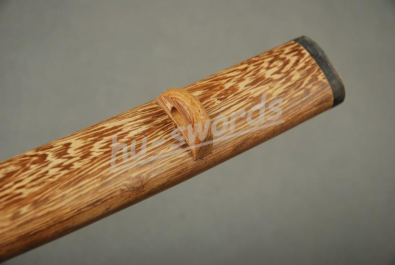 Nice Hualee Wood Saya Sheath For Japanese Samurai Sword Knives Katana