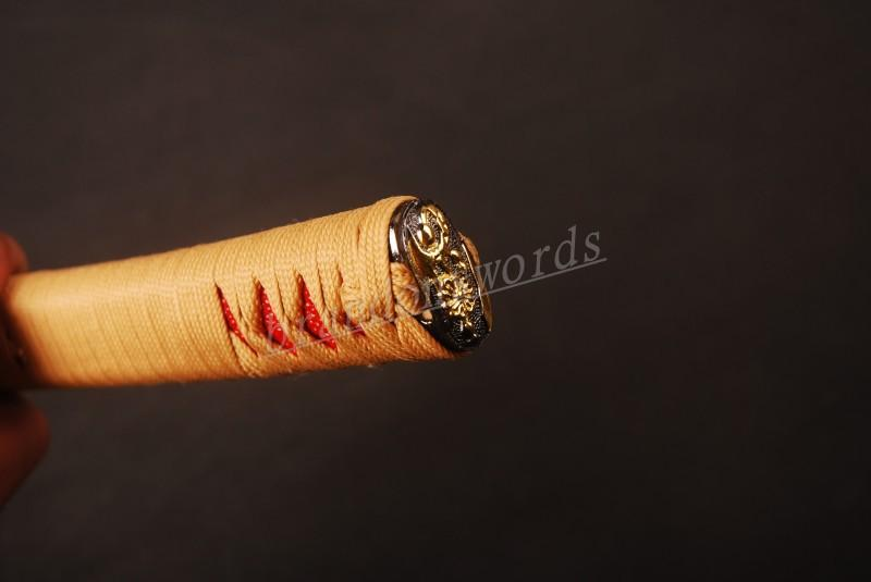 Samurai Sword Japanese Sword Katana Handle Battle Wrapped Tsuka H14