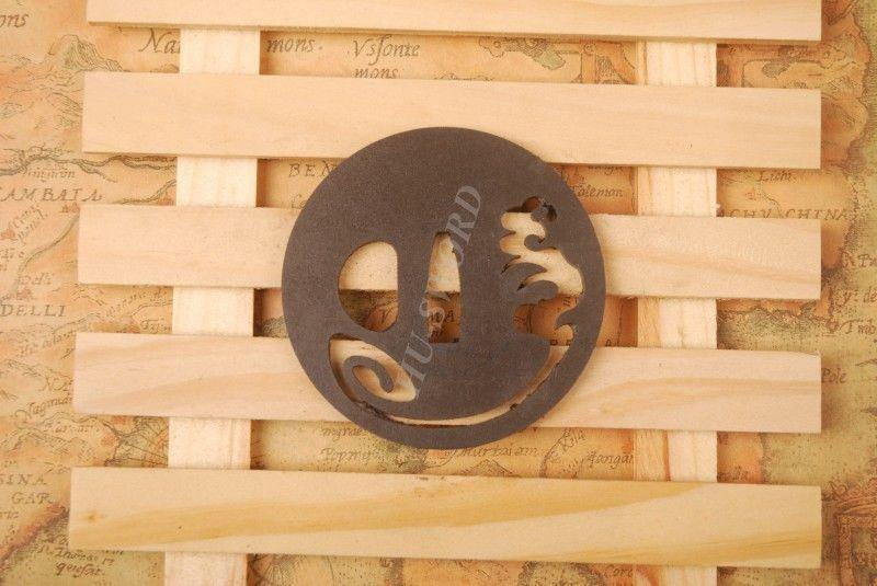 Iron Tsuba Hand Guard For Japanese Samurai Sword Knives Katana Wakizashi Ht017