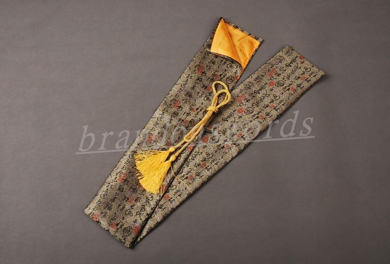 Japanese Samurai Sword Katana Good Quality Nice Soft Sword Bag With Tassels Qd3